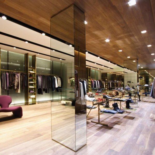 Foto di arredamento negozio Bruschi Bolzano
