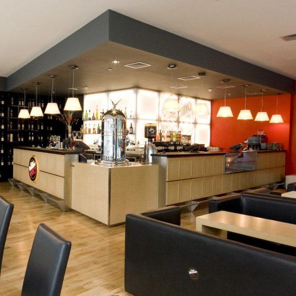 Foto di arredamento bar Caffé Vergnano